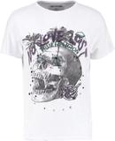True Religion NO LOVE LOST Tshirt med tryck whtie