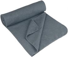 Avento Yogahandduk halkfri Aura grå