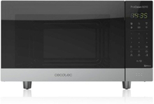 Mikrobølgeovnen Cecotec ProClean 6010 23 L 800W Sort Sølvfarvet