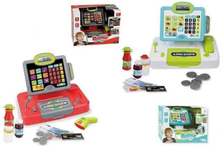 Legetøjskasseapparat Mini Shop + Indbygget scanner (30,5 x 19 x 24 cm)
