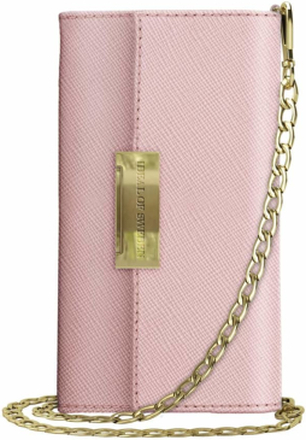 iDeal of Sweden iDeal Kensington Cross Body Clutch till iPhone XR - Rosa