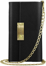 iDeal of Sweden iDeal Kensington Cross Body Clutch till iPhone XR - Svart