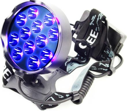 UV Pannlampa med 12x6 Watt LED