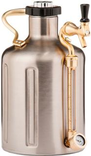 GrowlerWerks uKeg Pro 128 rostfritt stål 3,8 liter