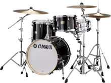Yamaha Stage Custom Birch Bop Shell Set - Raven Black