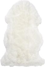 Gently långhårigt fårskinn - 95-100x60 cm - Vit