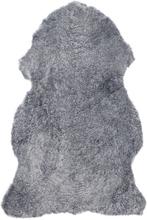 Curly fårskinn - 95x55 cm - Silvergrå