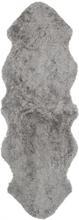 Curly fårskinn - 180x60 cm - Grå