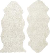 Curly fårskinn - 135x55 cm - Beige