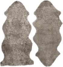 Curly fårskinn - 135x55 cm - Sahara