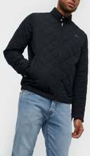 Gant D1. The Quilted Windcheater Takit Black