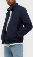 Gant D1. The Quilted Windcheater Takit Blue