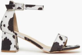 Glamorous Glamorous Cow Heels High Heel