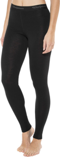 Woolpower Lite Long Johns Women black XS 2019 Merinoull bukser