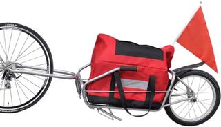 vidaXL Sykkeltilhenger for last/bagasje (ett hjul)