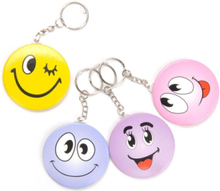 Keychain-laugh face with mirror
