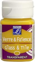 Glas- & keramikfärg L&B 50 ml - Transparenta