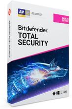 Bitdefender Total Security Multi-Device 2020 - 10 enheter