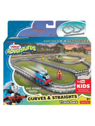 Thomas Adventures Job Line Set - bends and straigh