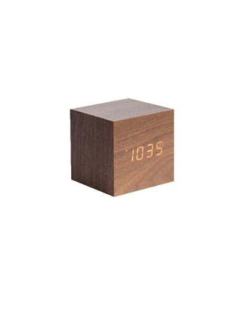 Mini Cube Alarm Clock