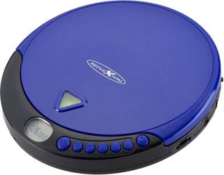 Reflexion PCD500MP Bærbar CD-afspiller CD, CD-R, CD-RW, MP3 Blå