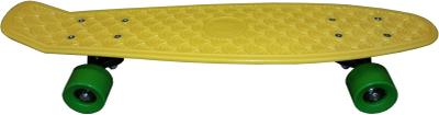 SportMe, Skateboard plast Gul
