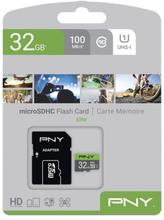SDHC-hukommelseskort PNY Elite 32 GB Sort