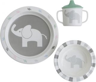 Servis Elefant 3-delar, Rätt Start