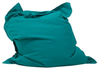 Sækkestol Blågrøn BELIANI