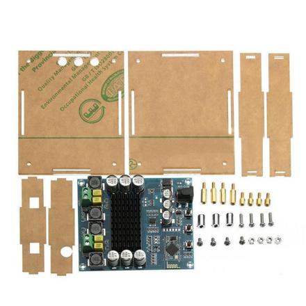 TPA3116D2 Professional 120Wx2 Digital Bluetooth 4.0 Audio Receiver Amplifier Module Board With Acrylic Case DIY