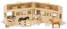 Fold & Go - stall med hästar