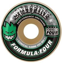 Spitfire Formula Four 101D Conical II 52mm Wheels green print Uni