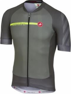 Castelli - Aero Race 5.1 men's Bike jersey (grey) - XXL