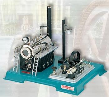 Dampmaskin D18 kjele 500 ccm, Wilesco - Wilesco dampmaskiner D18