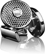 Skultuna Manschettknappar Headlight Silver