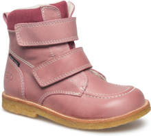 0d0aa426ea2 Ecological Hand Made Water Proof Low Boot Vinterstøvler Lyserød ARAUTO RAP