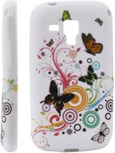 Symphony (Diverse Sommerfugler) & Sirkler) Samsung Galaxy Trend Deksel