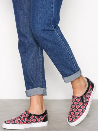 Love Moschino Sneaker Slip-On Svart
