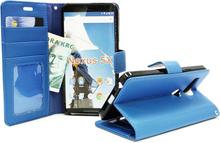 Standcase wallet Google Nexus 5X (H791) (Blå)