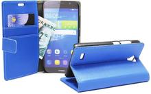 Standcase wallet Huawei Y5 (Y560) (Blå)