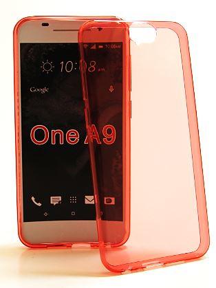 Ultra Thin TPU skal HTC One A9 (Röd)