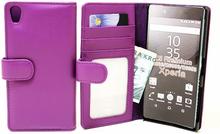 Plånboksfodral Sony Xperia Z5 Premium (E6853) (Lila)