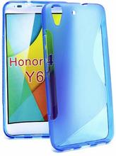 S-Line skal Huawei Y6 (Blå)