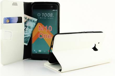 Standcase Wallet HTC 10 (Vit)
