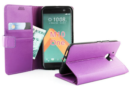Standcase Wallet HTC 10 (Lila)