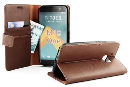 Standcase Wallet HTC 10 (Brun)