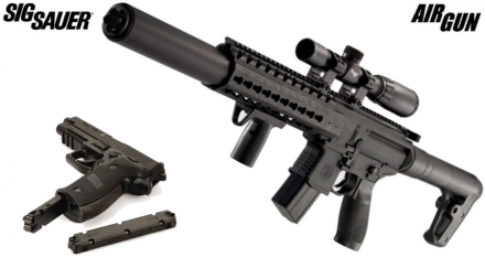 SIG SAUER SIG MCX - Luftgevær PAKKETILBUD