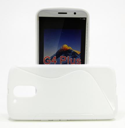 S-Line Skal Lenovo Motorola Moto G4 / G4 Plus (Vit)