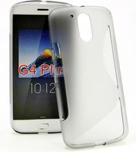S-Line Skal Lenovo Motorola Moto G4 / G4 Plus (Grå)