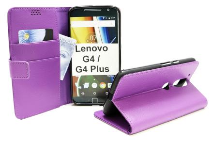 Standcase Wallet Lenovo Motorola Moto G4 / G4 Plus (Lila)